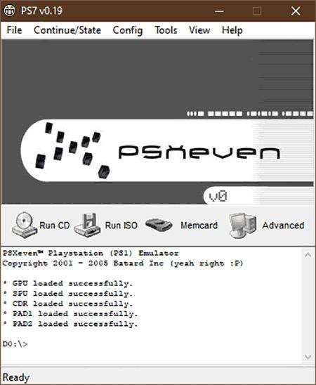 PSXseven Emulator
