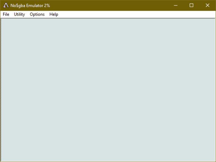 No$Gba GBA emulator