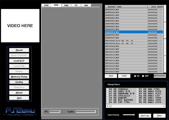 PS2emu playstation2 emulator