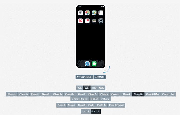 Appetize.io iphone emulator
