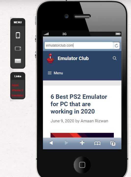 iPhone 4 emulator