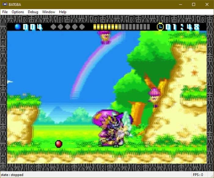 BatGBA emulator