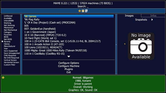 Mame Emulator PS1