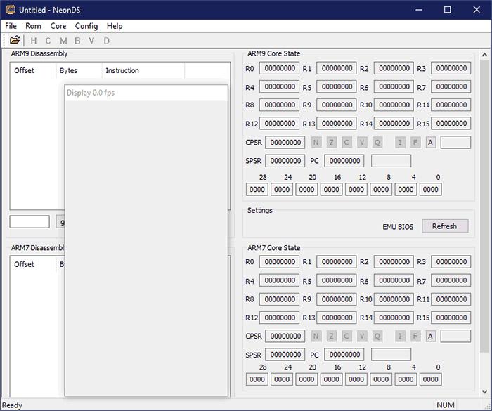 NeonDS Emulator