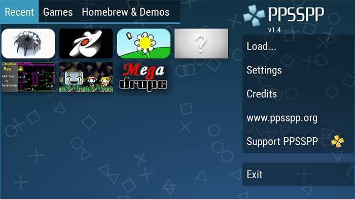 PPSSPP ps2 emulator