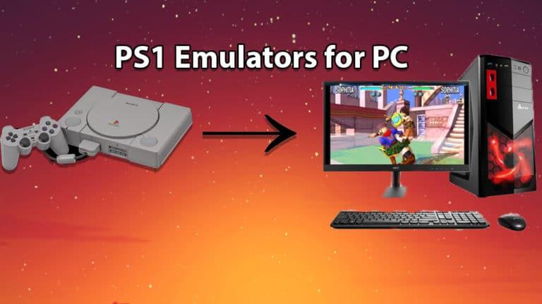PS1 emulator PC