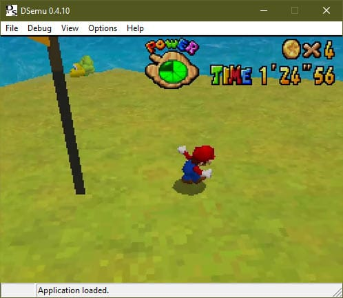 DSemu DS emulator