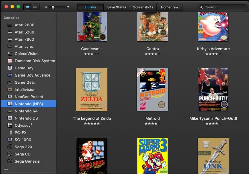OpenEmu DS emulator