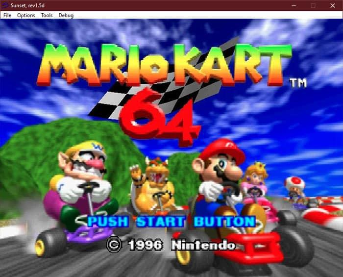 Sunset N64 Emulator