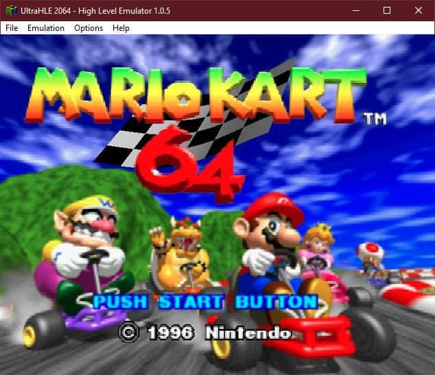 UltraHLE 2064 Emulator
