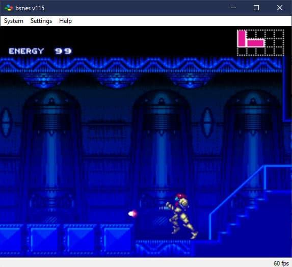 Bsnes SNES Emulator