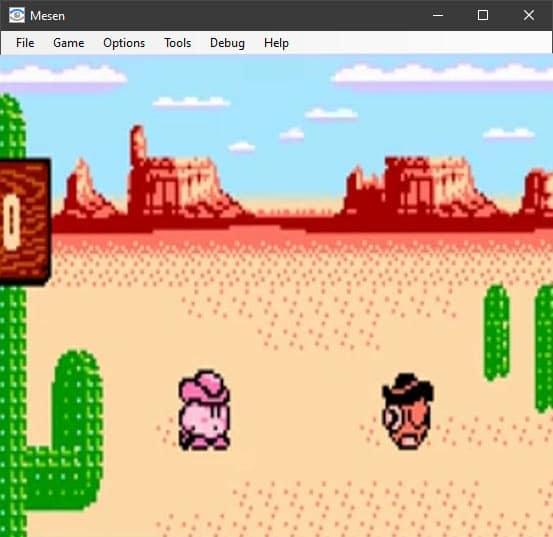 Mesen emulator for NES