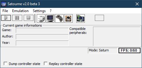 Satourne Emulator