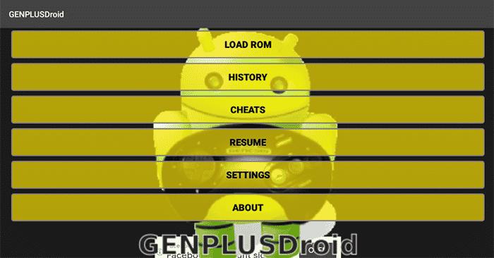 GenPlusDroid emulator