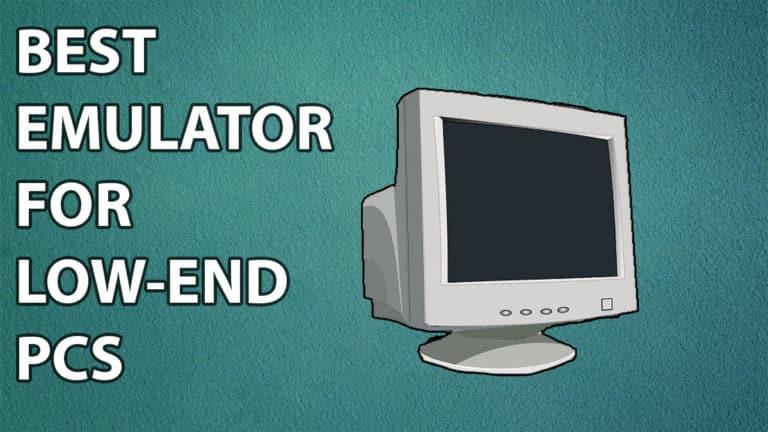 emulator for low end pcs