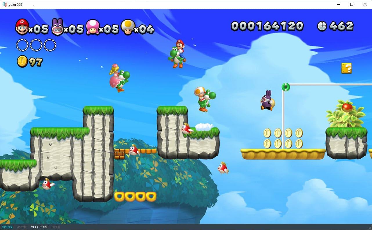 Yuzu Nintendo Switch emulator