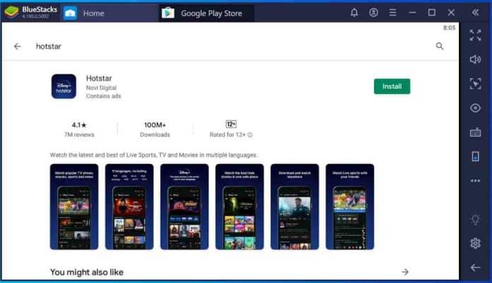 hotstar-app-on-pc-using-bluestacks