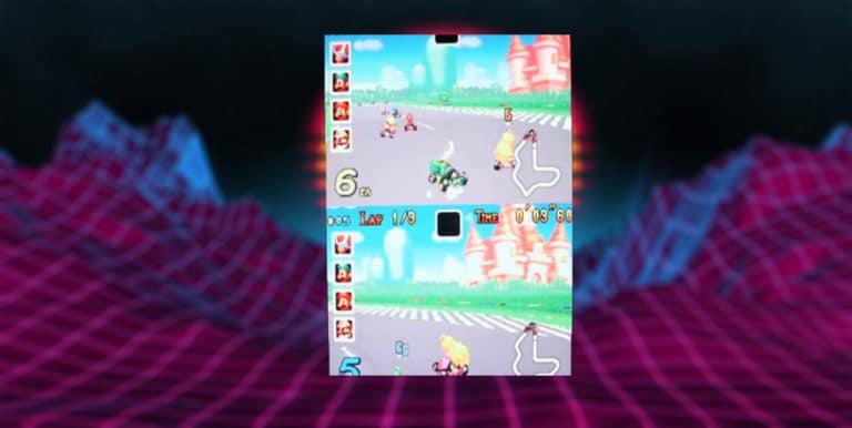 GBA emulator split screen