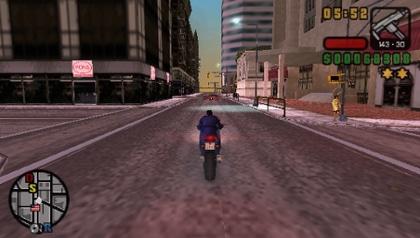 Gta Liberty Cities PSP game