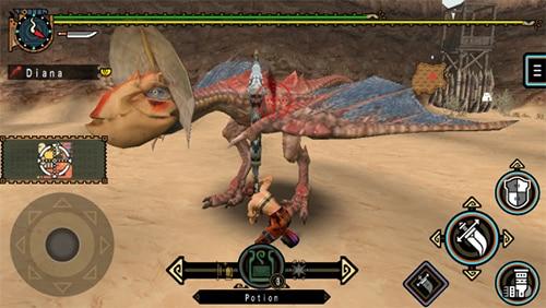 Best PSP Game Monster Hunter
