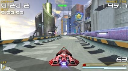 wipeout pure best psp game