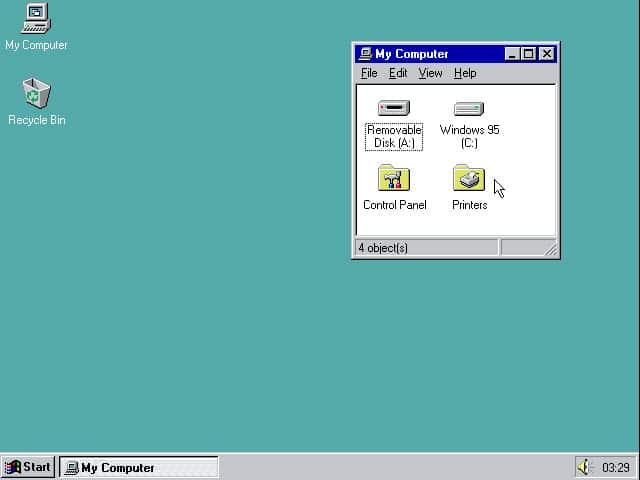 Windows 95 Emulator Browser