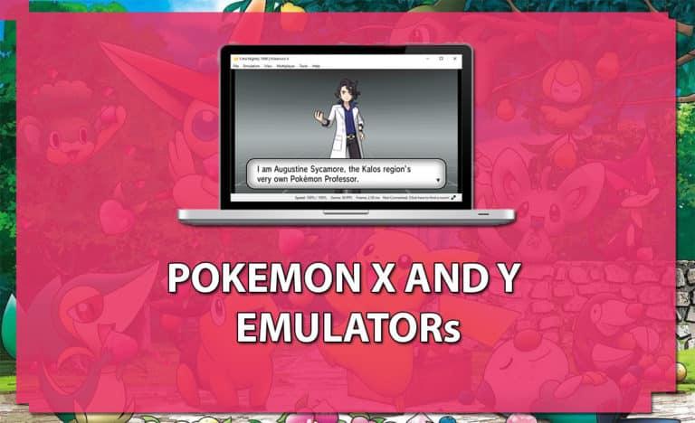 Pokemon X and Y emulator