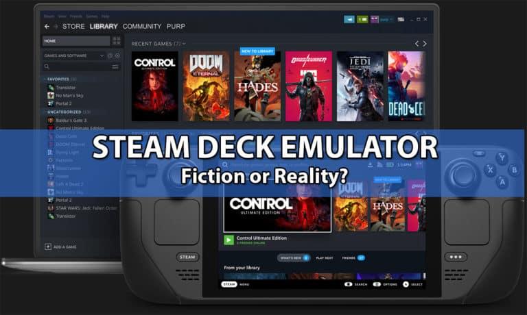 Steam Deck Emulator