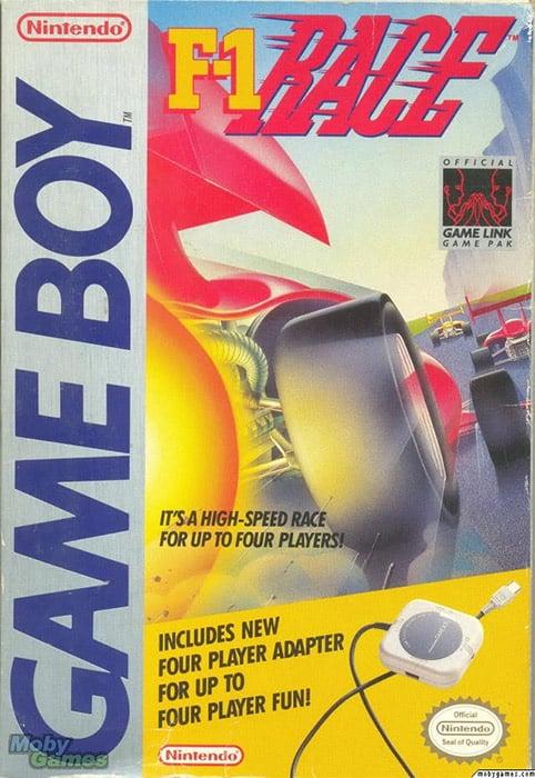 F1 Race on Game Boy