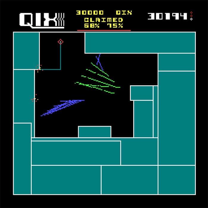 Qix Game Boy Color game