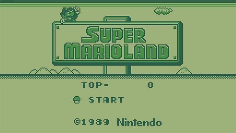 Super Mario land Game Boy Color